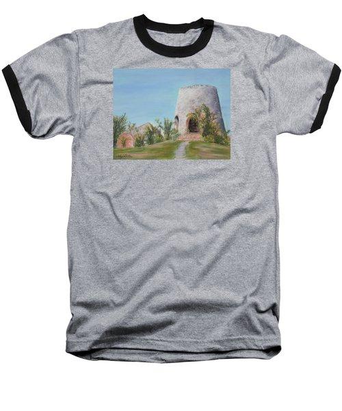 St. Croix Sugar Mill Baseball T-Shirt