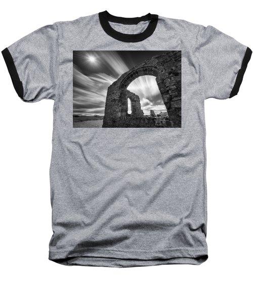 St Dwynwen's Church Baseball T-Shirt