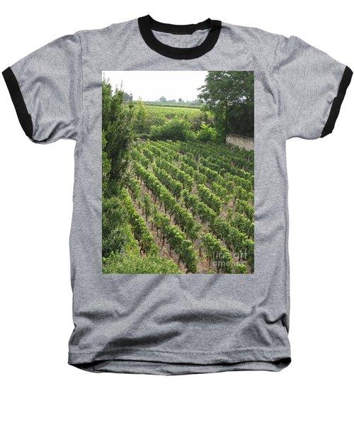 St. Emilion Vineyard Baseball T-Shirt