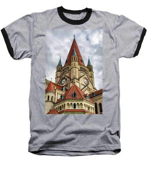 St. Francis Of Assisi Church In Vienna Baseball T-Shirt