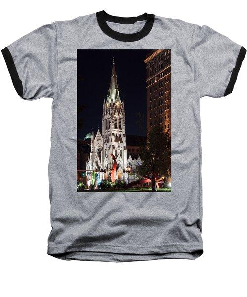 St. Francis Xavier Church Baseball T-Shirt
