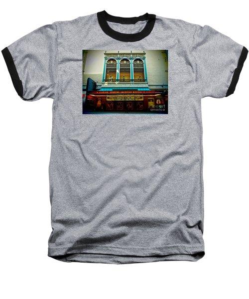 St. James Theatre Balcony Baseball T-Shirt