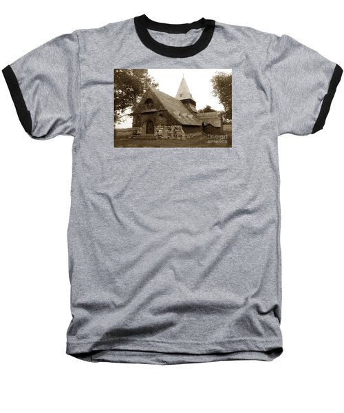 St. Johns Chapel Del Monte Monterey California 1895 Baseball T-Shirt