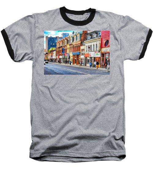 Yonge Street In Toronto Baseball T-Shirt