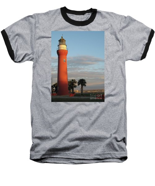 St. Johns River Lighthouse II Baseball T-Shirt