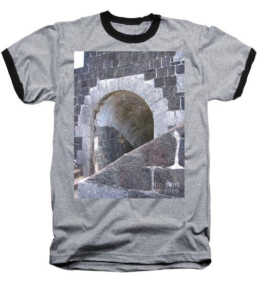 St. Kitts  - Brimstone Hill Fortress Baseball T-Shirt