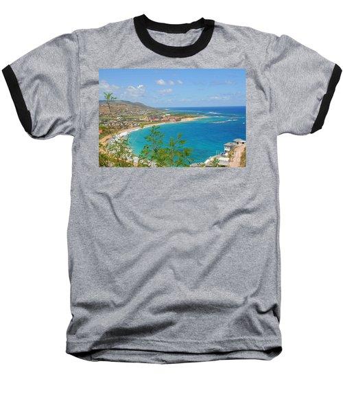 St. Kitts Baseball T-Shirt by Cindy Manero