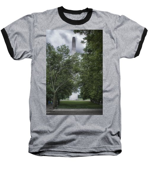 Baseball T-Shirt featuring the photograph St Louis Arch by Lynn Geoffroy