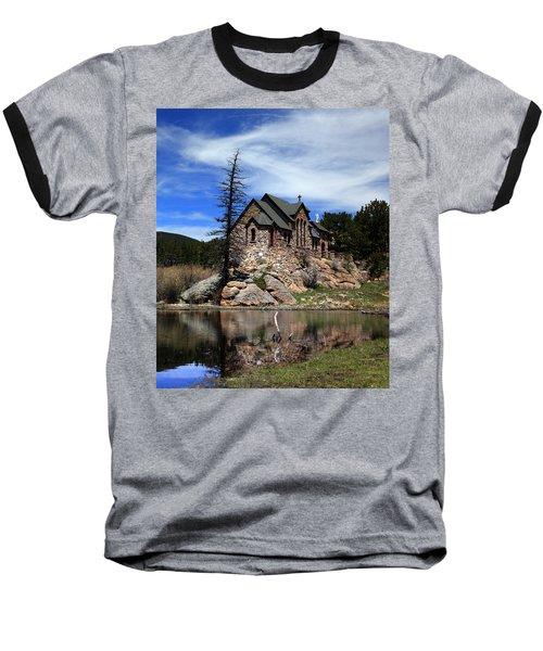 St. Malo Chapel Baseball T-Shirt
