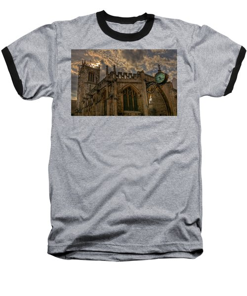 St Martin Coney Street In York Baseball T-Shirt