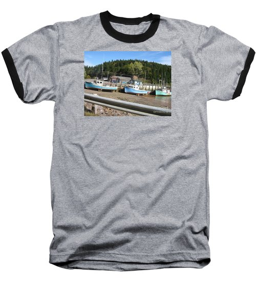 St-martin's Fishing Fleet Baseball T-Shirt