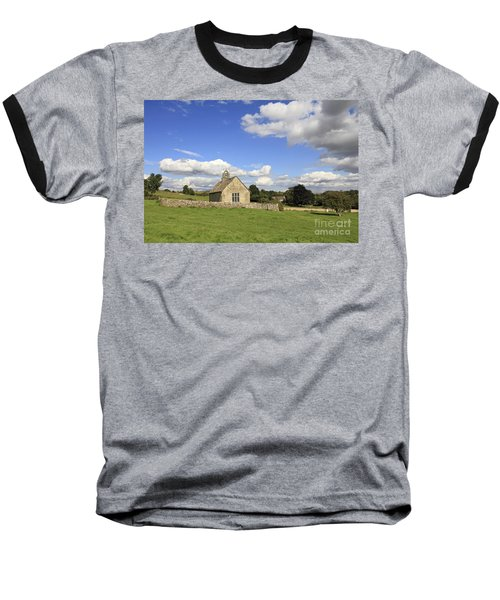 St Oswalds Chapel Oxfordshire Baseball T-Shirt