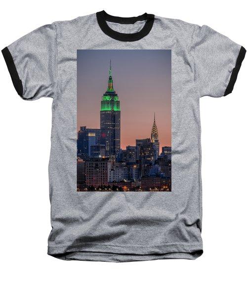 St Patrick's Day Postcard Baseball T-Shirt