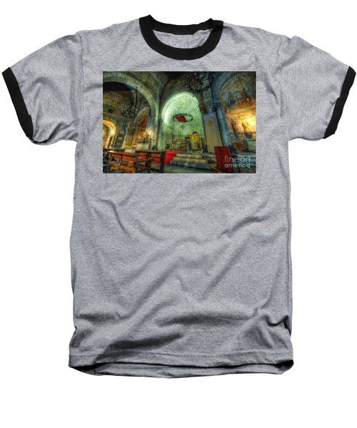 St Pere De Puelles Church - Barcelona Baseball T-Shirt