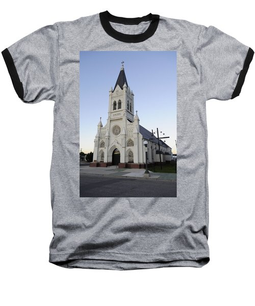 Baseball T-Shirt featuring the photograph St. Peter's by Fran Riley