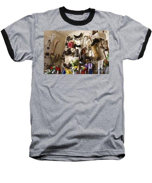 New Orleans St Roch Cemetery Baseball T-Shirt by Luana K Perez
