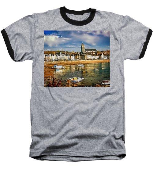 Saint Servan Anse Baseball T-Shirt by Elf Evans