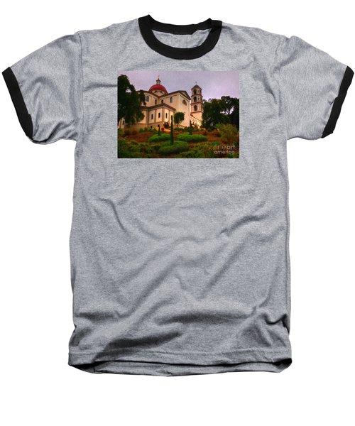 St. Thomas Aquinas Church Large Canvas Art, Canvas Print, Large Art, Large Wall Decor, Home Decor Baseball T-Shirt