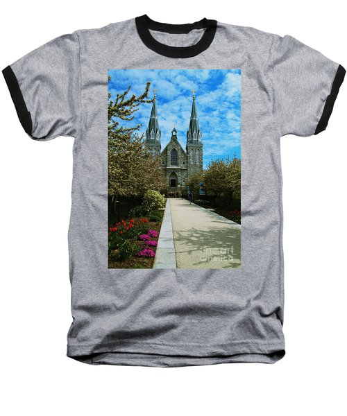 St Thomas Of Villanova Baseball T-Shirt