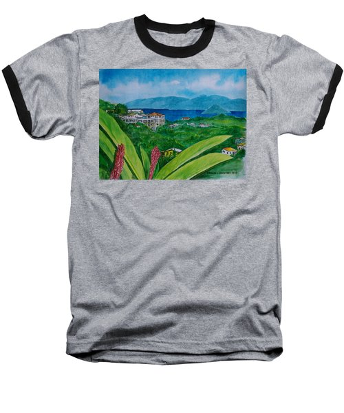 St. Thomas Virgin Islands Baseball T-Shirt