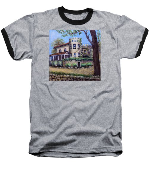 Stags' Leap Manor House Baseball T-Shirt by Rita Brown