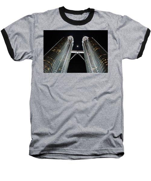 Stainless Steel Moon Baseball T-Shirt