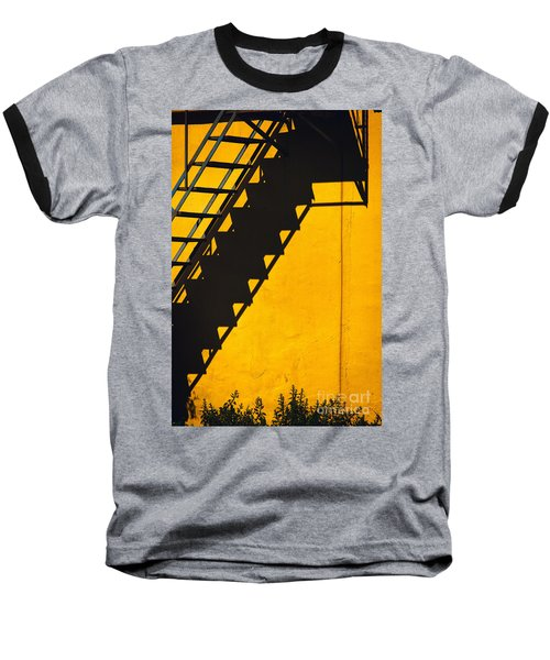 Baseball T-Shirt featuring the photograph Staircase Shadow by Silvia Ganora