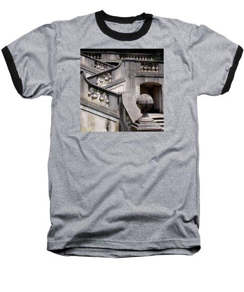 Stairway At Winterthur Baseball T-Shirt