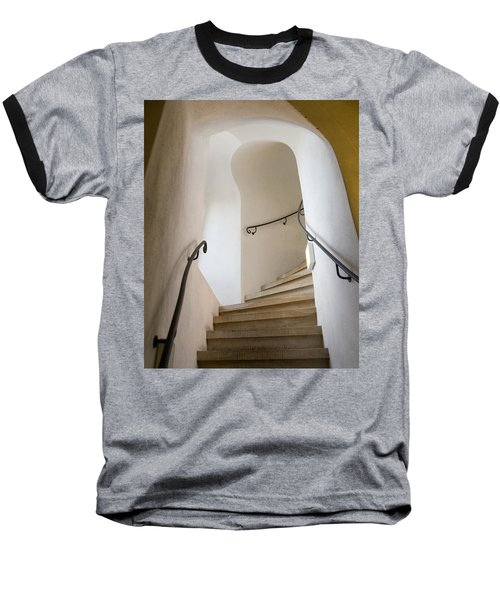 Stairway To Heaven Baseball T-Shirt by William Beuther