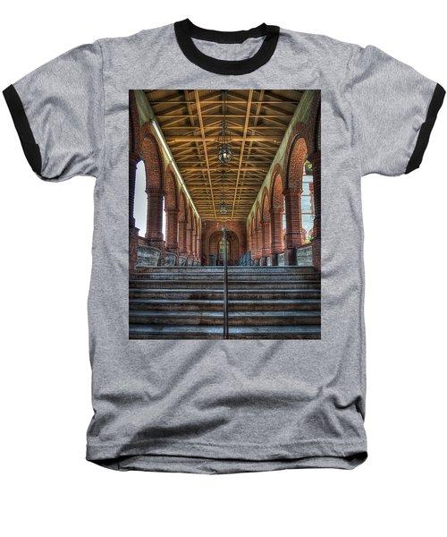 Stairway To History Baseball T-Shirt