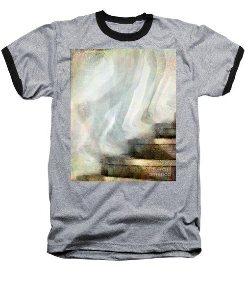 Left Behind Baseball T-Shirt by Jennie Breeze
