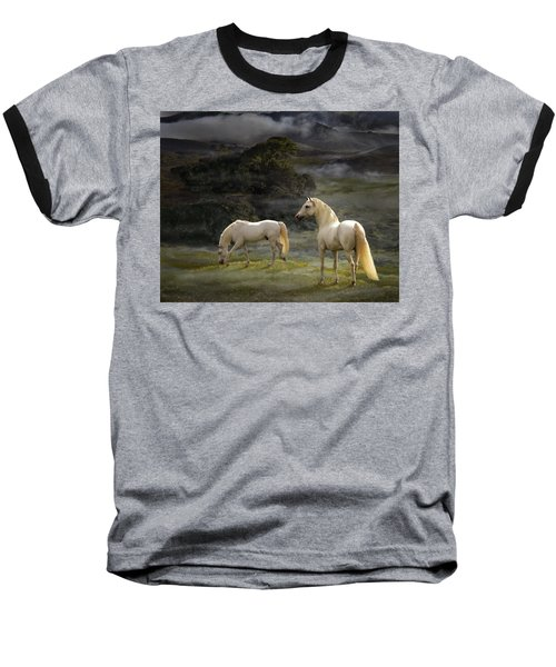 Stallions Of The Gods Baseball T-Shirt