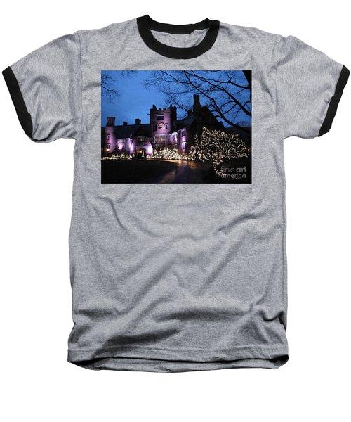 Stan Hywet Hall And Gardens Christmas  Baseball T-Shirt