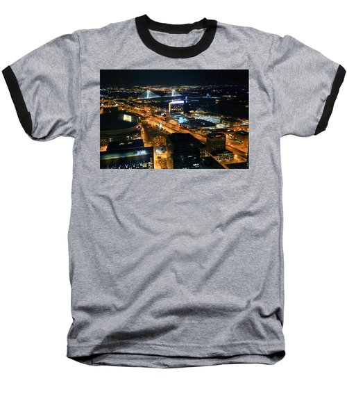 Stan Musial Bridge In St Louis Mo Dsc03215 Baseball T-Shirt by Greg Kluempers