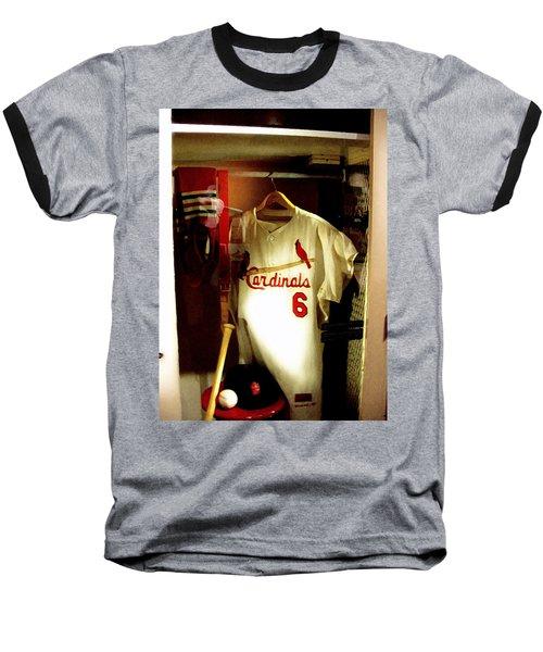 Stan The Man's Locker Stan Musial Baseball T-Shirt