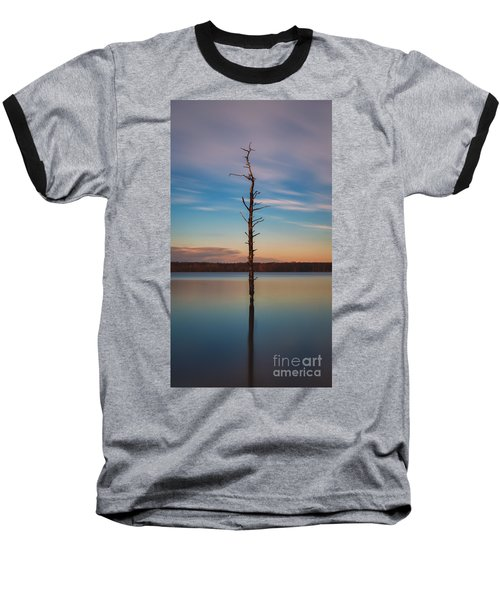 Stand Alone 16x9 Crop Baseball T-Shirt by Michael Ver Sprill