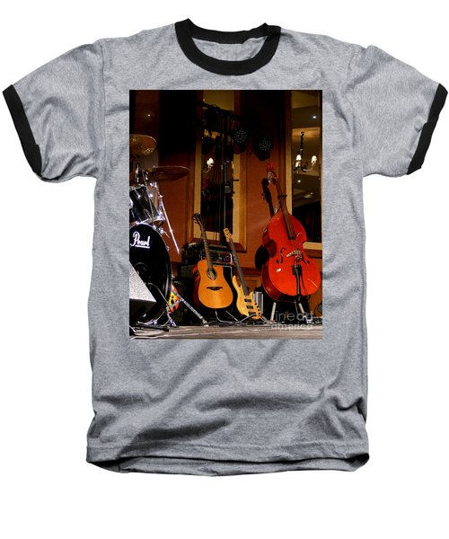 Baseball T-Shirt featuring the photograph Stand By by Nina Ficur Feenan