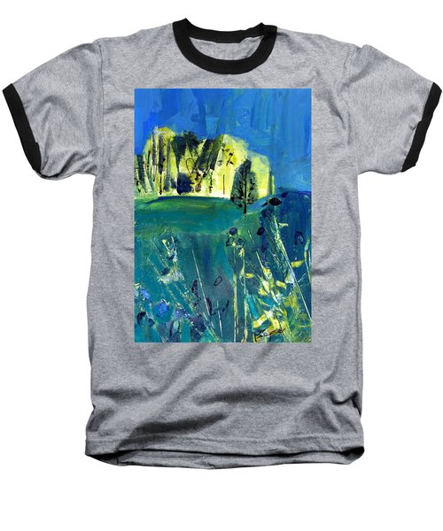 Stand Of Trees In Distance Baseball T-Shirt