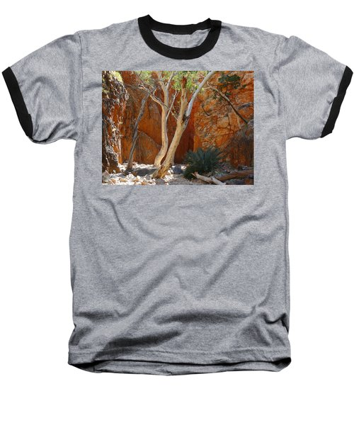 Standley Chasm Baseball T-Shirt by Evelyn Tambour