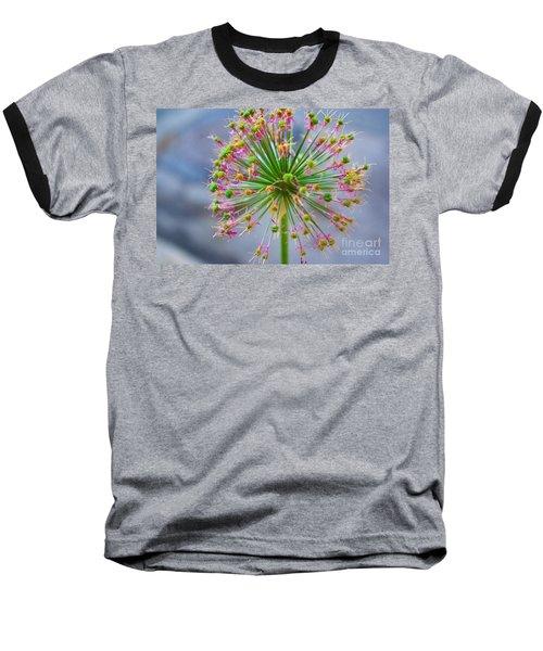 Baseball T-Shirt featuring the photograph Star Burst by John S