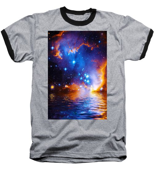 Stars As Diamonds Baseball T-Shirt