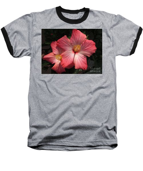 Baseball T-Shirt featuring the photograph Star Flower by Barbara Griffin