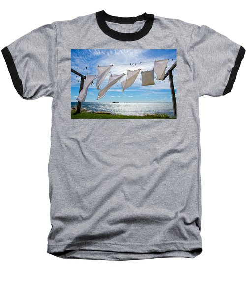 Star Island Clothesline Baseball T-Shirt