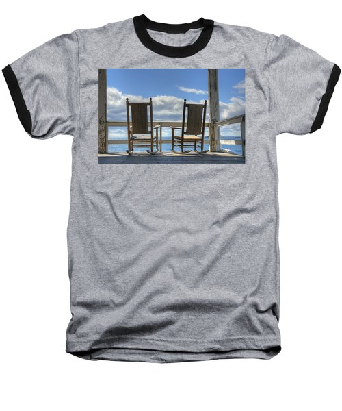 Star Island Rocking Chairs Baseball T-Shirt