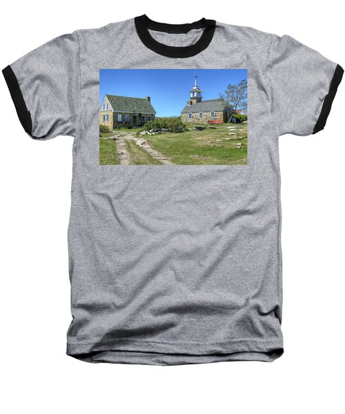 Star Island Village Baseball T-Shirt