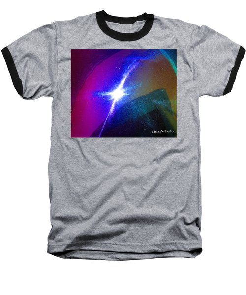 Star Baseball T-Shirt by Joan Hartenstein