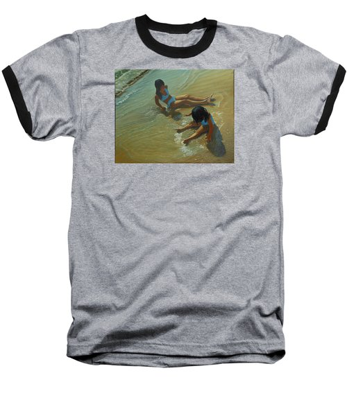 Star Maker Baseball T-Shirt by Thu Nguyen
