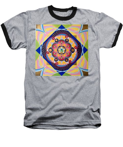 Star Mandala Baseball T-Shirt