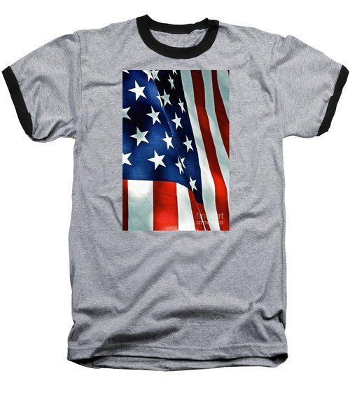 Star-spangled Banner Baseball T-Shirt
