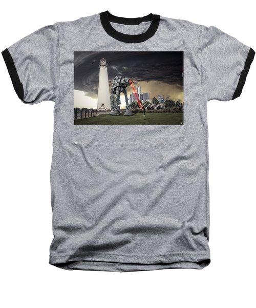 Baseball T-Shirt featuring the photograph Star Wars All Terrain Armored Transport by Nicholas  Grunas